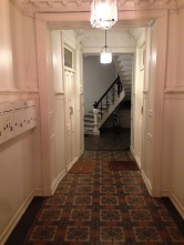 Entry foyer -- love the floors!