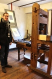 Printing & Engraving Demonstration at the Dürer House