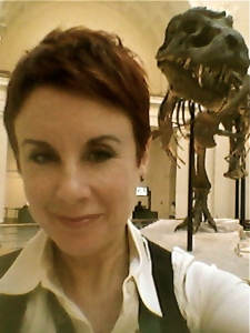 The Field Museum in Chicago has been one of my clients for many years. Behind me is my buddy