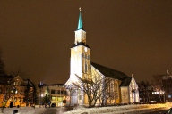 The Domkirke at Night