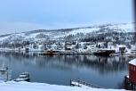 Fjord village.
