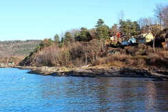 One of the small islands in Oslo's fjord.