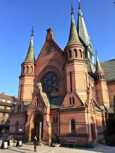 Sagene Church, designed by architect Christian Fürst.