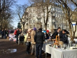 Vestkanttorvet bric-a-brac market.
