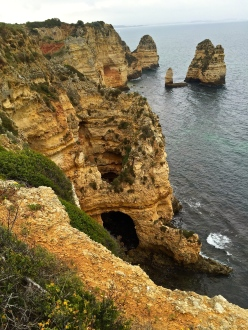 Check out the sea cave.