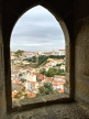 A view of Lisbon from a guard tower.