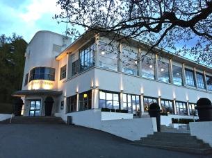 Ekeberg Restaurant's (1929) moderne exterior.