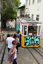 Many of the trolleys just repeatedly go up and back down a single, steep hill.