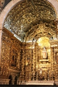São Roque's Chapel of the Most Holy Sacrament contains the gold-barnacled and bedecked Our Lady of the Assumption.