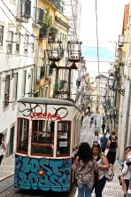 The best view of street life -- and the best breezes -- are to be had from the trolleys.