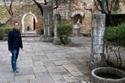 In the courtyard that once housed simple wooden huts, you can still spot stones laid by the Romans, Visigoths, and Moors.