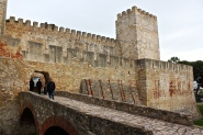 The Moors built São Jorge Castle in the 11th century, but portions of the settlement go back to the 7th century B.C.