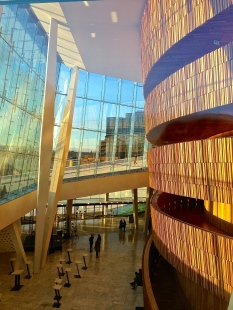 Interior of the Oslo Opera.