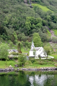 The church in the village of Bakka,