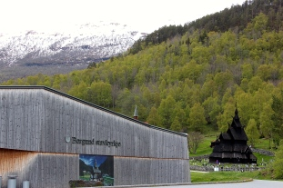 The Stave Church Museum, which also contains Viking artifacts found in a nearby settlement.