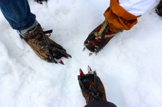 Ice-kickin' boots.
