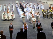 In the center left, you can see some of the cool uniforms of the French Foreign Legion.