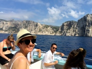 There are 11 Calanques along the coastline between Marseille and Cassis. Our tour took us to eight in about two hours.