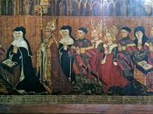 Incredible Medieval paintings. I seriously want a chance to try and balance one of those headdresses on my noggin someday.