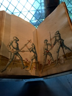 German master Johann Lichtenauer's training manual for would-be knights.