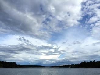 Gorgeous Oslo skies.