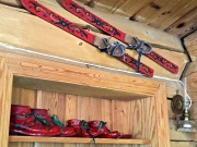 Who doesn't need a pair of rosemalling-covered skis?