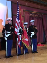 The Marine Color Guard