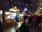 Time for a little shopping at the Spikersuppa Julemarked on Karl Johan's Gate.