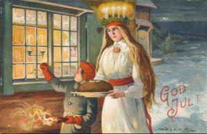 Santa Lucia card