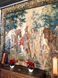 "One of the ""Bridal Tapestries"" said to have decorated King Christian IV's bedchamber on his wedding night."