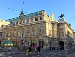 "The Viennese scorningly dubbed the Opera, ""the sunken Treasure chest,"" due to its massive, ornate exterior."