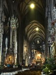 "The delicately ribbed Gothic nave measures nine stories tall and supposedly is longer than a football field. The church was saved during the Nazi retreat by Captain Gerhard Klinkicht, who refused his commander's order to ""just fire a hundred shells at it and leave it in debris and ashes."""
