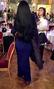 The Kim Kardashian lookalike -- from behind, of course.