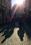 Picturesque cobbled streets.
