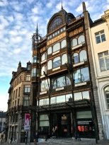 The Art Nouveau Museum of Musical Instruments was once the Old England Department store.
