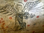 Most of the tombs also have angels swinging thuribles (incense burners.) I think this would make a great tattoo.
