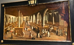 About 500 years ago, hospital beds for the sick and dying poor folk filled what is now the Memling Museum. Nuns dished out comfort more than medicines, which were pretty limited at best during the Medieval period.