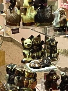 "Some of the ""Aw, shucks"" chocolate cuties."