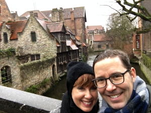 You can't beat Bruges for Medieval ambiance.