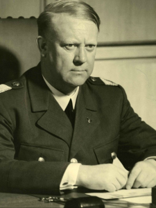 "Vidkun Quisling was executed for treason at the end of WWII. His name is still synonymous with ""traitor"" in Norway, like the name of Benedict Arnold is in the U.S."