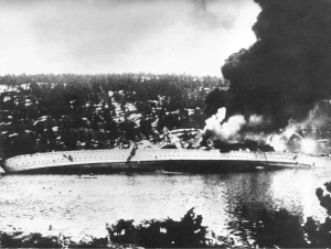 On April 9, 1940, Germany launched Operation Weserübung, a surprise dawn attack on Oslo and other Norwegian harbors. The tiny Norwegian armed forces managed to take out the German cruiser Blücher and deter Nazi operations long enough to win the king and government time to escape.
