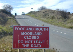 On our first visit to England in 2001, Foot-and-mouth Disease prevented us from hiking the moors. But we still visited many small villages -- guess we thought we could single-handedly prop up the failing tourism economy.