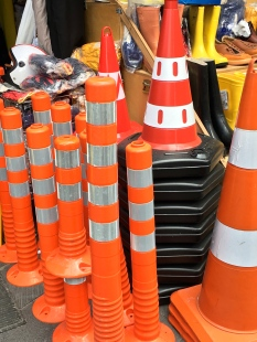 And of course, who doesn't need to stock up on traffic cones for those emergency occasions?