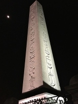 Emperor Theodosius had this Egyptian obelisk (which dates to 1490 B.C. and honors Pharaoh Thutmose III) carted here from the Temple of Karnak in Luxor and re-erected along the Spina. The obelisk was cut into three pieces for transport, and today only the top one-third of it still survives.