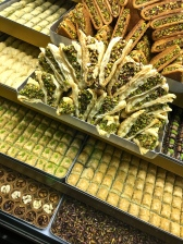 More kinds of baklava than you can count.