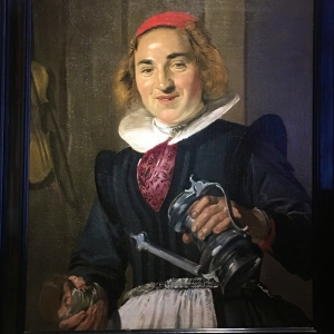 "Frans Hals' ""Innkeeper"" looks like a kindly woman, although she's no beauty. Hals loved to portray common folk; some speculate that this woman might have been the bartender at his favorite pub, the Coninck van Vranckrijck."