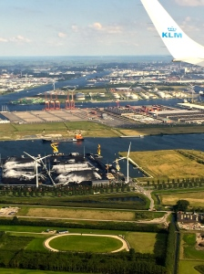 "The name ""Netherlands"" means ""lowlands"" -- about 27 percent of the country is below sea level. Windmills provide the power to pump water into canals and create dry land. In preparation for the eventual rise of sea level, the Netherlands is leading innovations in de-salination technologies, dike construction, and floating homes and greenhouses."