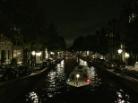 Taking a night cruise can't be beat for atmosphere. Bonus: you often get a great view directly into some of the most gorgeous canal-side homes.