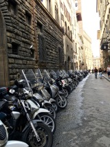 For more modern folks, motorcycles are the best mode of transportation for Florence's narrow side streets.