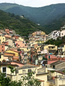 Terraced back in Roman times, the hillsides above each Cinque Terre town host extensive vineyards and olive groves.